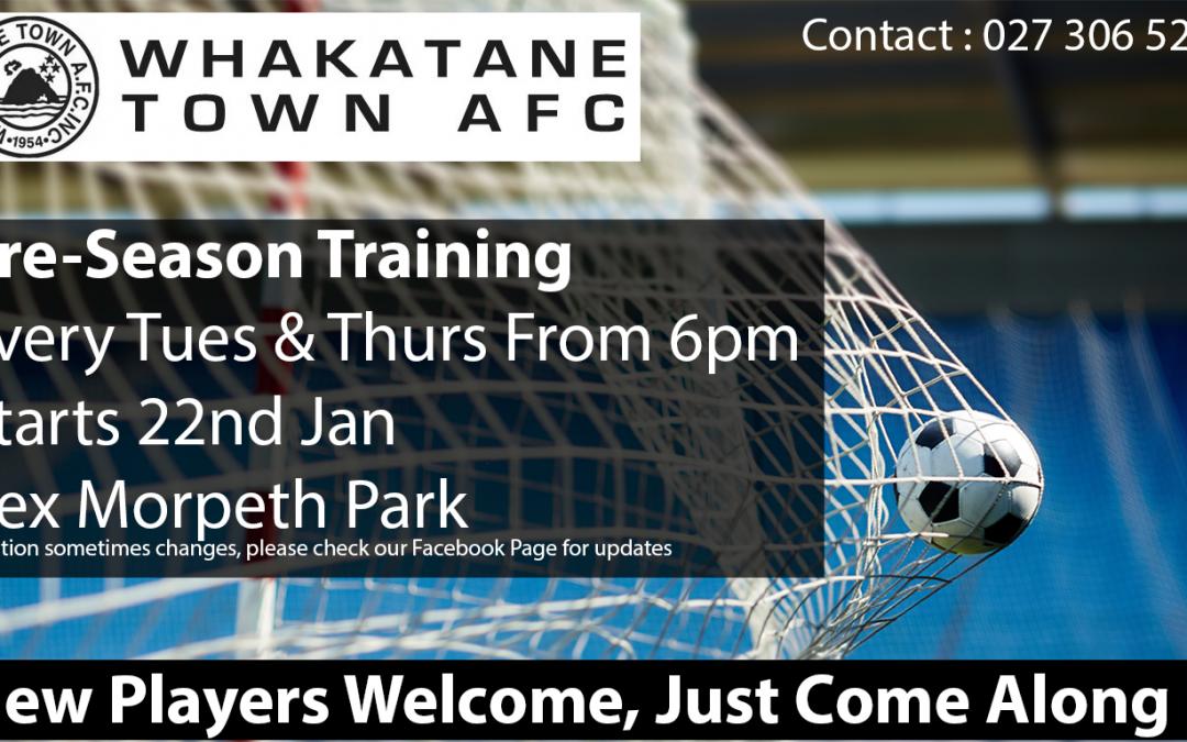 Join Pre-Season Training